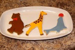 Animal Parade Cookies