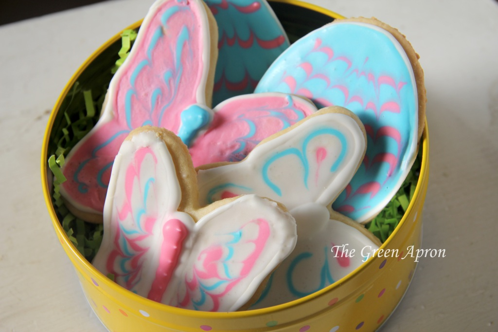 butterfly cookies by the green apron