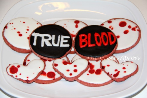 True Blood Cookie Platter