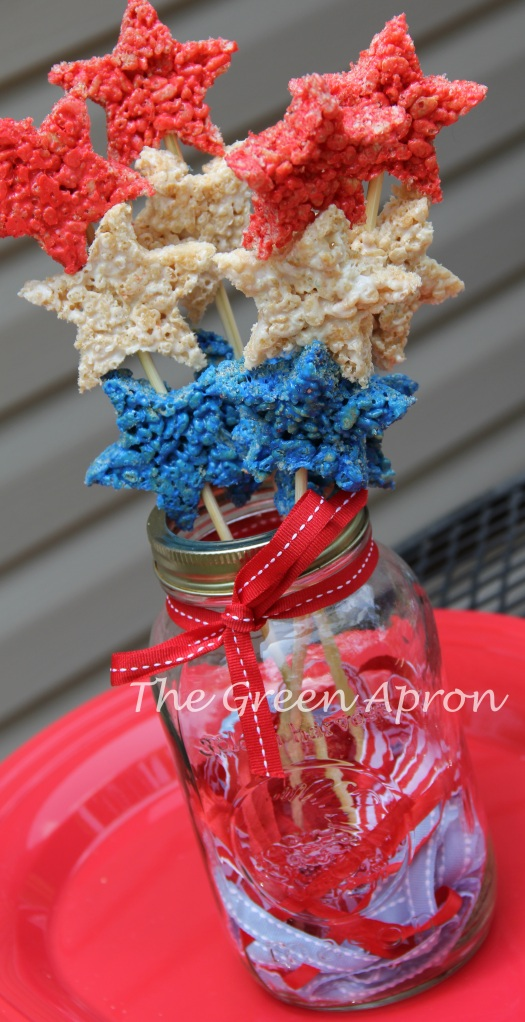 Star Spangled Crisp Rice Treats
