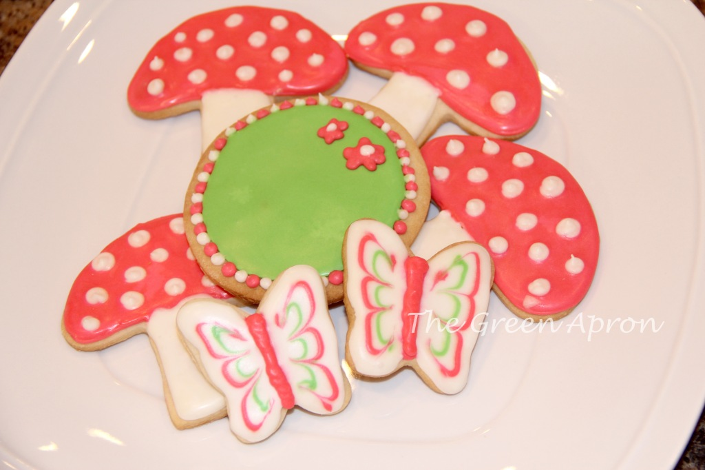Woodland Animal Cookie Detials